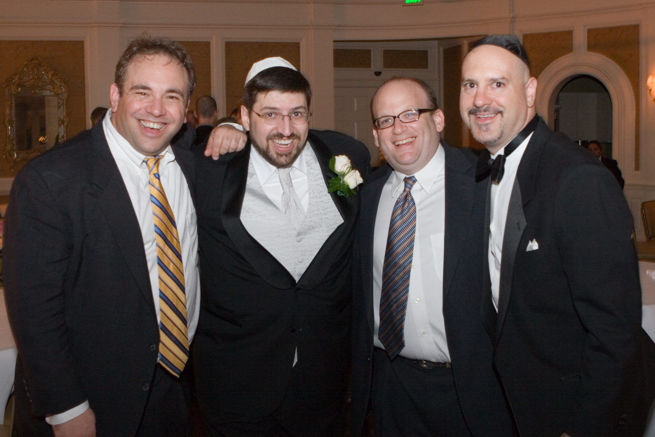 Three Jews and and Honorary Jew
